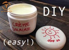 Protect your skin from UV rays with this wonderful recipe for mineral sunscreen with zinc oxide! Diy Beauty Care, Beauty Hacks, Bye Bye, Solaire Diy, Uv Makeup, Crema Solar, Homemade Cosmetics, Tips Belleza, Beauty Recipe