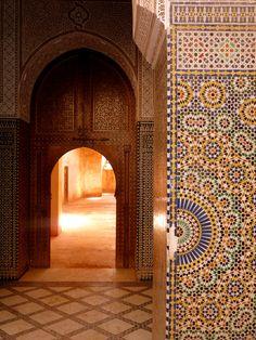 kasbah of telouet, morocco   islamic art + architecture #tile