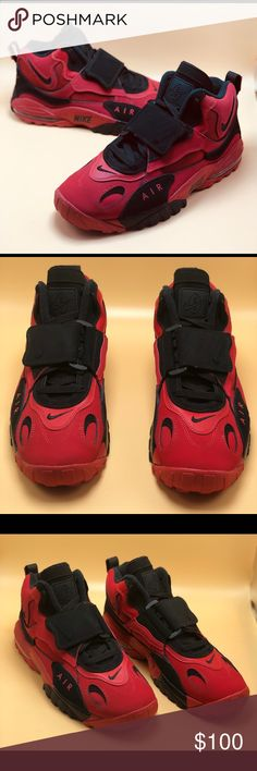 """c484224a649 Nike Air Max Speed Turf """"University Red"""" This Nike Air Max Speed Turf comes"""