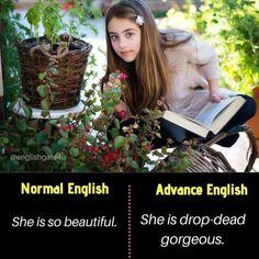 English Vocabulary List, Teaching English Grammar, English Writing Skills, English Language Learning, English Vocabulary Words, Interesting English Words, Learn English Words, English Sentences, English Idioms