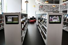 Ørestad Bibliotek. DK