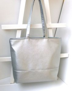Office bag Silver