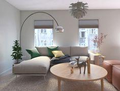 Amenajare living - contemporana - Canapea moderna - Design interior UBE studio - Ube, Design Projects, Couch, Interior Design, Studio, Furniture, Home Decor, Modern, Design Interiors