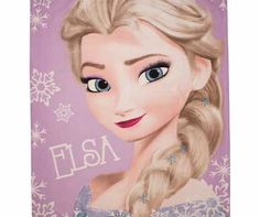Disney Frozen Crystal Fleece Blanket Officially licensed Disney Frozen crystal fleece blanket featuring the popular characters Elsa and Anna soft and warm to the touch. Size L150. W120cm. Machine washable. Suitable for tumble drying. EAN http://www.comparestoreprices.co.uk/bedding/disney-frozen-crystal-fleece-blanket.asp