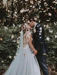 Wedding Pics Chantelle Paige Carmel CA Wedding, Ryder Sloan Events, Ty French Photo, Galiya Lahav Gown - % Perfect Wedding, Dream Wedding, Wedding Day, Forest Wedding, Spring Wedding, Elegant Wedding, Wedding Events, Romantic Wedding Photos, Celtic Wedding