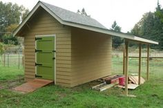 Building a Craftsman garden shed