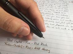 A review of the Pilot Capless Matte fountain pen. #penaddict #pens #fountainpen #fountainpens #pilot #pilotpen #pilotpens