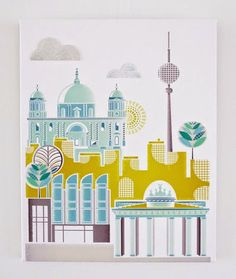 Fabric Ideas: Лица городов