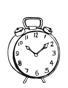 6641f4803c7 Desenhos de Relógios - Desenhos e Colorir