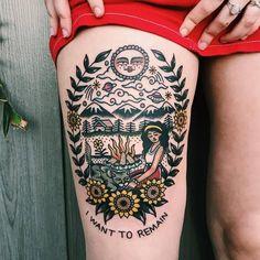 """Polubienia: 2,433, komentarze: 11 – Traditional Tattoo (@traditionalartist) na Instagramie: """"#tattoo by @disintegrationxvx ... ... ... #traditional #traditionaltattoo #traditionalartist…"""""""