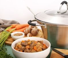 A classic beef stew with carrots, potato and ale, all cooked in a slow cooker. The perfect winter warmer.