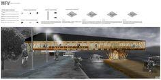 Primer Lugar IX Concurso CORMA, Infraestructura para la movilidad urbana / USACH