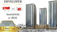 Enjoy the Japanese Perfection in the heart of BSD with BRANZ. Handover in 2018