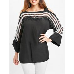 Only 3 Days Left Striped Blouse #shoes #fashions