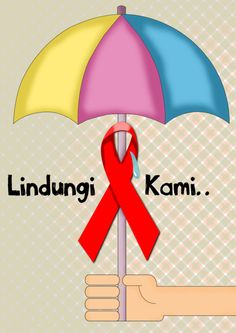 Commemorate the HIV and AIDS.