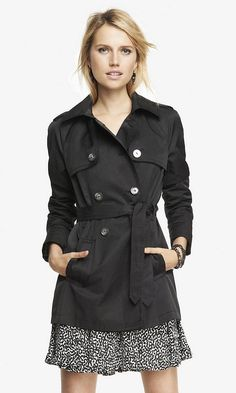 Express Trench Coat - bought this beauty yesterday! Love fall weather :)