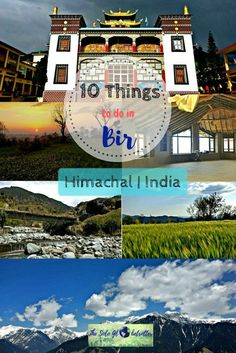 10 things to do in Bir | Himachal | India | Olaces to Visit in Bir | Bir Travel Guide