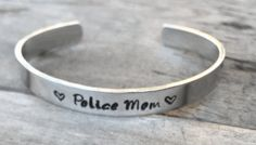Hand Stamped on 1/4x6 inch aluminum cuffs. These are super fun, lightweight, and perfect for stacking! FREE Shipping on this item.