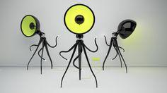 Vladimir Tomilov's lamps