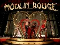 """Moulin Rouge"" by Cristina Aguilera, Pink, Lil´kim and Maya, for the movie ""Moulin Rouge"""