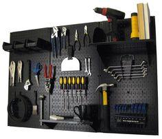4ft Metal Pegboard Standard Tool Storage Kit