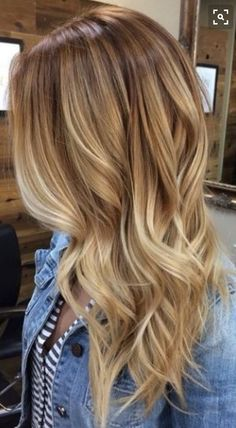 Ombre for spring time
