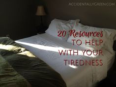 Feeling tired? Worn out and fatigued? I love how encouraging these 20 resources are!