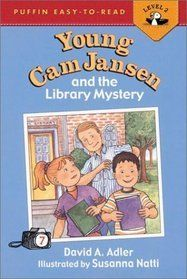 Young Cam Jansen and the Library Mystery (Young Cam Jansen Mysteries, #7) by David Adler  DRA: 16 Guided Reading: J