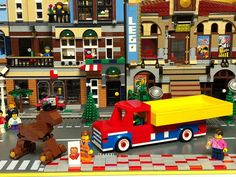 LEGO began as wooden toys. Heres my own modern interpretation to celebrate 60 years of the brick. Hope u like it - wooden horse and wooden truck made with ..bricks! . #legomocs #lego #legostagram #legoland #legocity #legomodulars #art #artistsoninstagram #toys #toyartistry #bank #creations #minifigures #artandcraft #kids #architecture #landscape #toyphotography #miniworld #brickgeekz #legophotos #legoafol #legocity #legomania #legocommunity #minifigures #legocreator #legocreatorexpert…
