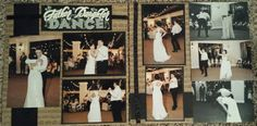 Father daughter dance. Wedding layout
