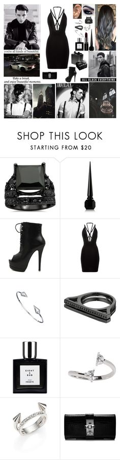 """""""Happy Birthday Andy! At His Birthday Party"""" by blueknight ❤ liked on Polyvore featuring Christian Louboutin, Smashbox, Lynn Ban, Maison Margiela, Vita Fede, Hermès and Chanel"""