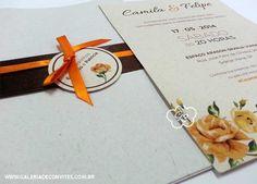 convite de casamento vintage eco | Galeria de Convites