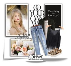 """Romwe 5/10"" by lejlamekic ❤ liked on Polyvore featuring ANNA"