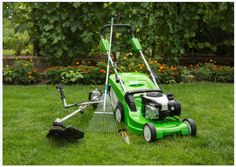 On-Demand Lawn Cutting Garden Equipment, Outdoor Power Equipment, Mowing Services, Lawn Maintenance, Chroma Key, Trends, New Things To Learn, Lawn Care, Lawn Mower