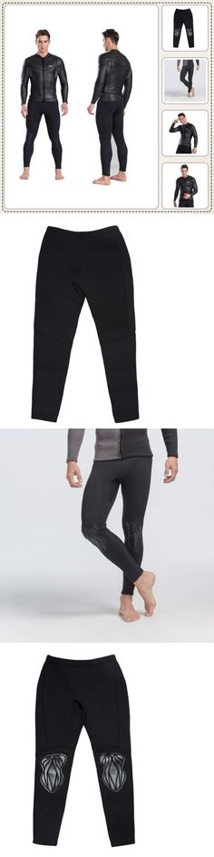 Men 16058: 2Mm Mens Wetsuit Top Smooth Skin Full Body Surf Diving Full Suit Long Pant Black -> BUY IT NOW ONLY: $34.19 on eBay!