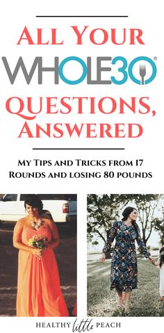 Are you planning a Do you still have questions? I am here to help. As a Certified Coach and someone who lost 80 pounds on the program, I am here to share my tips and tricks and also answer your burning questions. Healthy Eating Recipes, Paleo Recipes, Healthy Food, Chicken On A Stick, Whole30 Program, Chicken Poppers, Light Olive Oil, Chicken Patties, Little Peach