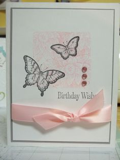Creative Elements and Papillon Potpourri. Stampin Up