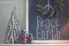 Ballard-Inspired Holiday Chalkboard {$30 Thursday!} - House by Hoff