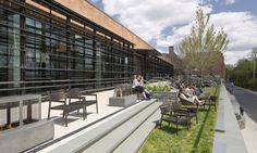 Studio ikon.5 architects designed Healey Family Student Center, a LEED Gold adaptive reuse project for Georgetown University.