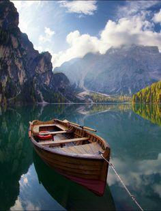 Lake Braies, Italy: