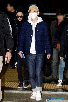 Incheon Airport to Singapore 160108 : Chen