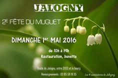 2e fête du muguet de Jalogny le 1er mai 2016 : http://clun.yt/1rlaUlW