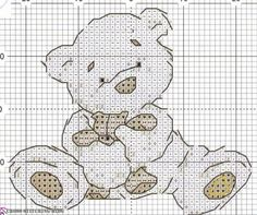 Lickle Ted, found on : http://cross-stitching-blog.com/archives/6204