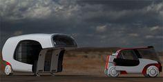 Colim Caravan Concept : A Cool Combination of A Car and A Caravan Camper