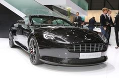 Aston Martin DB9 Carbon Black - Provided by MotorTrend