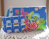 Iphone Smart phone Case Gadget Pouch Clutch Wristlet Zipper Gadget Pouch Set  Antiquebasketlady - pinned by pin4etsy.com