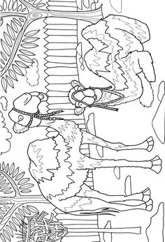 Day at the Zoo Adventure Coloring BookDover Publications