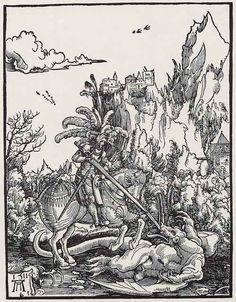 Albrecht Altdorfer, St. George killing the Dragon, 1511