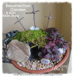 Easter Gardens and Triduum Displays - Catholic Inspired