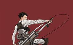 Desktop Wallpaper Attack On Titan, Levi Ackerman, Anime, Hd Image, Picture, Background, Z Esd9